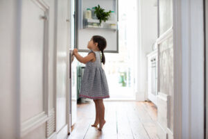 small-girl-refrigerator-kitchen