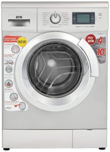 IFB 8 kg Fully-Automatic Front Loading Washing Machine (Senator Aqua SX, Silver, Inbuilt heater, Aqua Energie water softener)