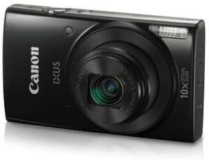Canon IXUS 190 20 MP Digital Camera with 10x Optical Zoom, Memory Card And Camera Case