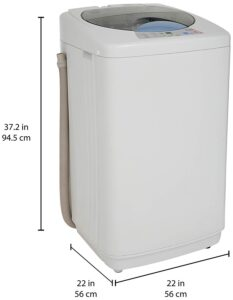 Haier 5.8 kg Fully-Automatic Top Loading Washing Machine (HWM58-020S, White)
