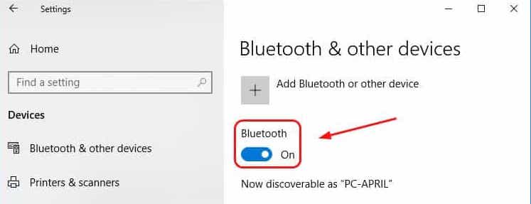 how-to-turn-on-bluetooth-windows-10
