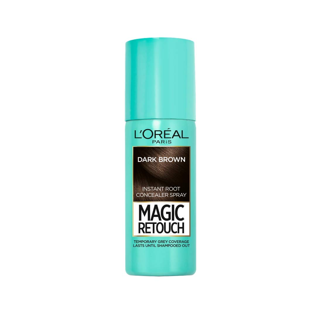 L'Oréal Paris Magic Retouch Temporary Root Touch Up Hair Colour Spray 2 Dark Brown, 75ml