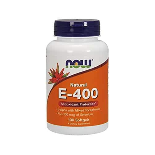 NOW Foods Vitamin E-400 Mixed Tocopherols - 100 Softgels