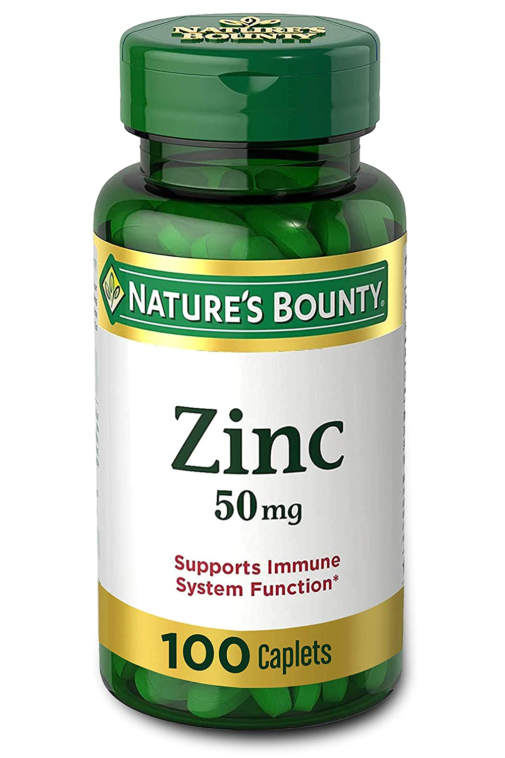 Natures Bounty Zinc 50mg - 100 Caplets