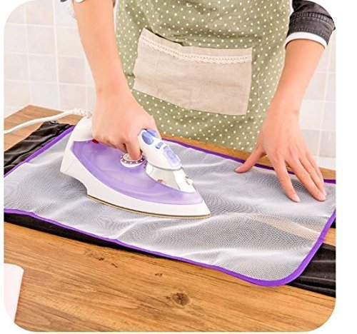 PERFECT LIFE IDEAS Ironing Pad Cover Mat Sheet Protective Insulation Scorch Mesh Cloth- Assorted Color