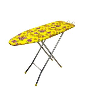 TruGood Folding Ironing Board Iron Table with PRESS Stand - XL