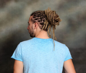 Those majestic looking braided rows for Indian males