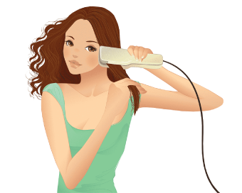 How to curl Your Hair with a Straightener?